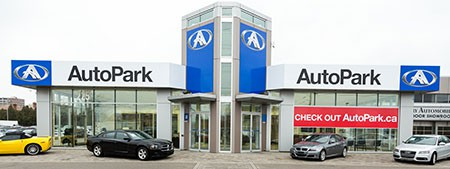 New AutoPark Mississauga used car dealership location