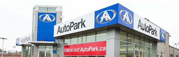 Used car dealership AutoPark Mississauga
