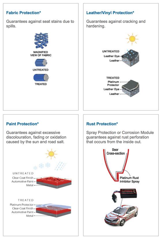 Platinum Shield Protection Options
