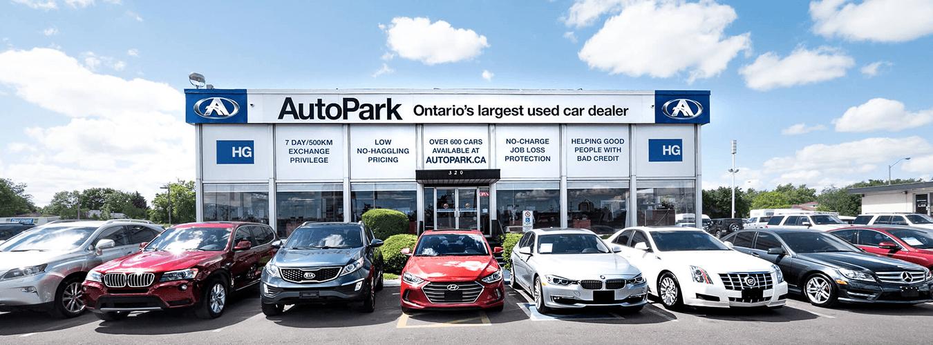 Used car dealership AutoPark Brampton